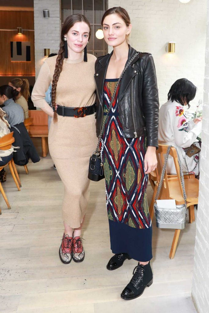 Phoebe Tonkin at the Barrie's Friendsgiving Lunch in New York City 11/14/2017-3
