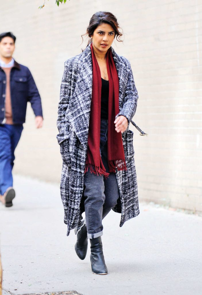 Priyanka Chopra on the Set of Quantico in New York City 11/14/2017-3