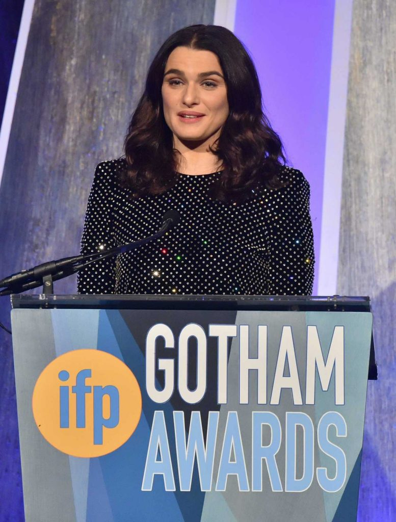 Rachel Weisz at the 27th Annual Gotham Independent Film Awards in New York City 11/27/2017-5
