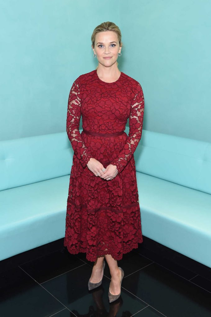 Reese Witherspoon at the Tiffany & Co. Holiday Breakfast in New York City 11/29/2017-1