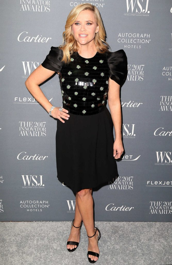 Reese Witherspoon at the WSJ Innovator Awards in NYC 11/01/2017-1