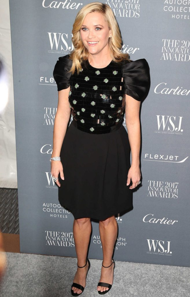 Reese Witherspoon at the WSJ Innovator Awards in NYC 11/01/2017-2