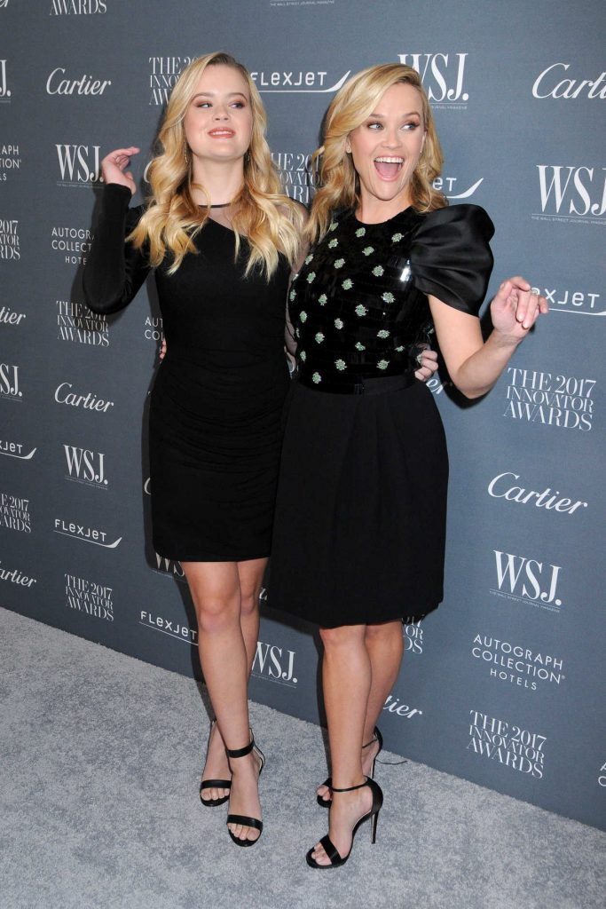 Reese Witherspoon at the WSJ Innovator Awards in NYC 11/01/2017-3
