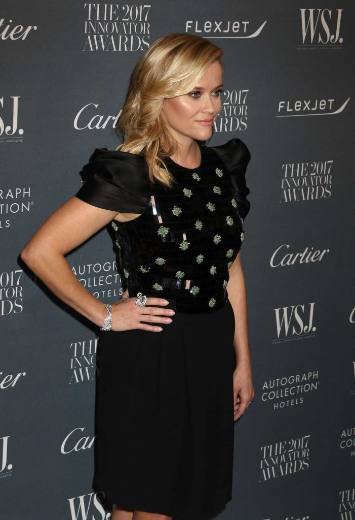 Reese Witherspoon at the WSJ Innovator Awards in NYC 11/01/2017-4