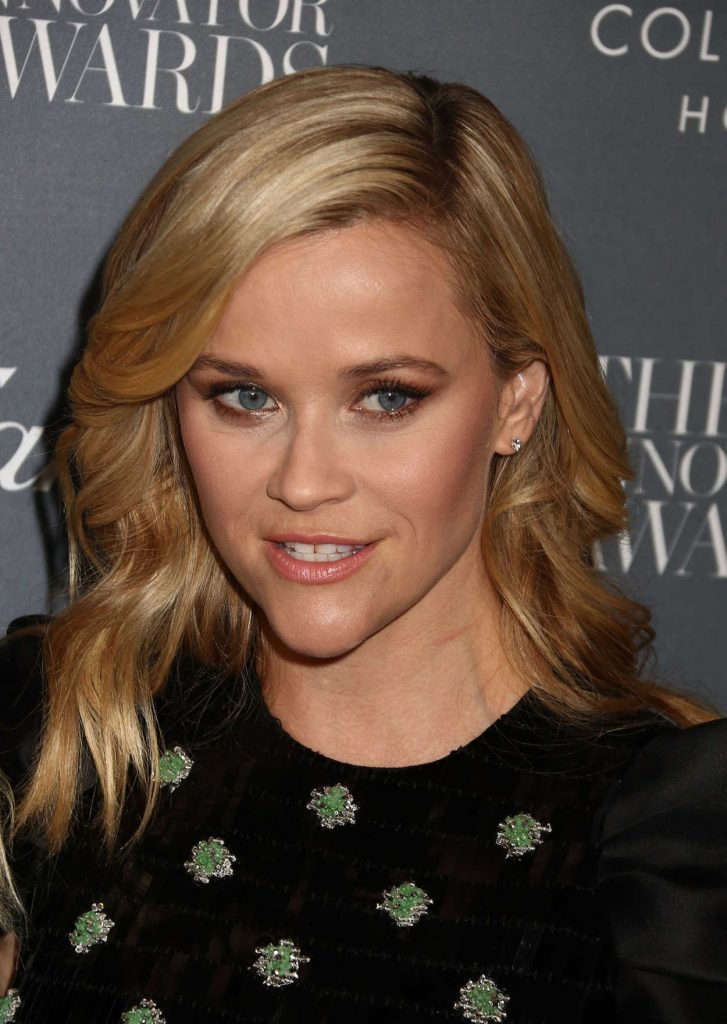 Reese Witherspoon at the WSJ Innovator Awards in NYC 11/01/2017-5