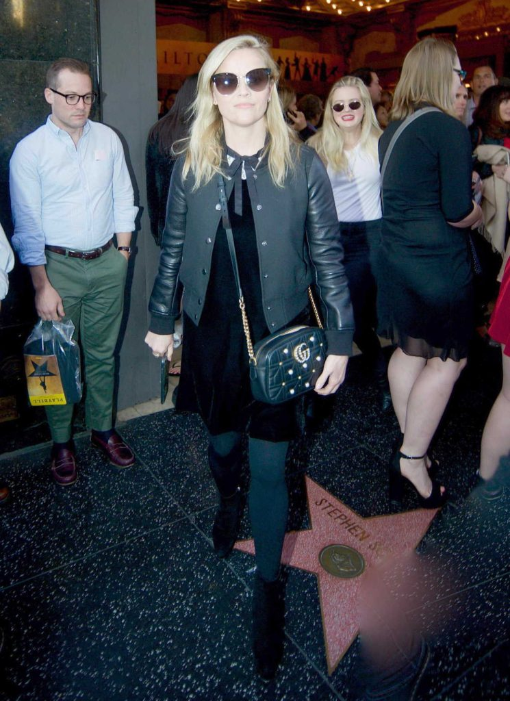 Reese Witherspoon Leaves a Hamilton Show in Los Angeles 11/19/2017-1