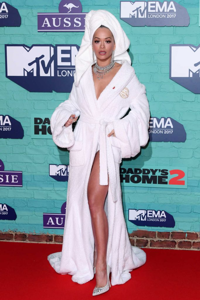 Rita Ora at the 24th MTV Europe Music Awards in London 11/12/2017-1