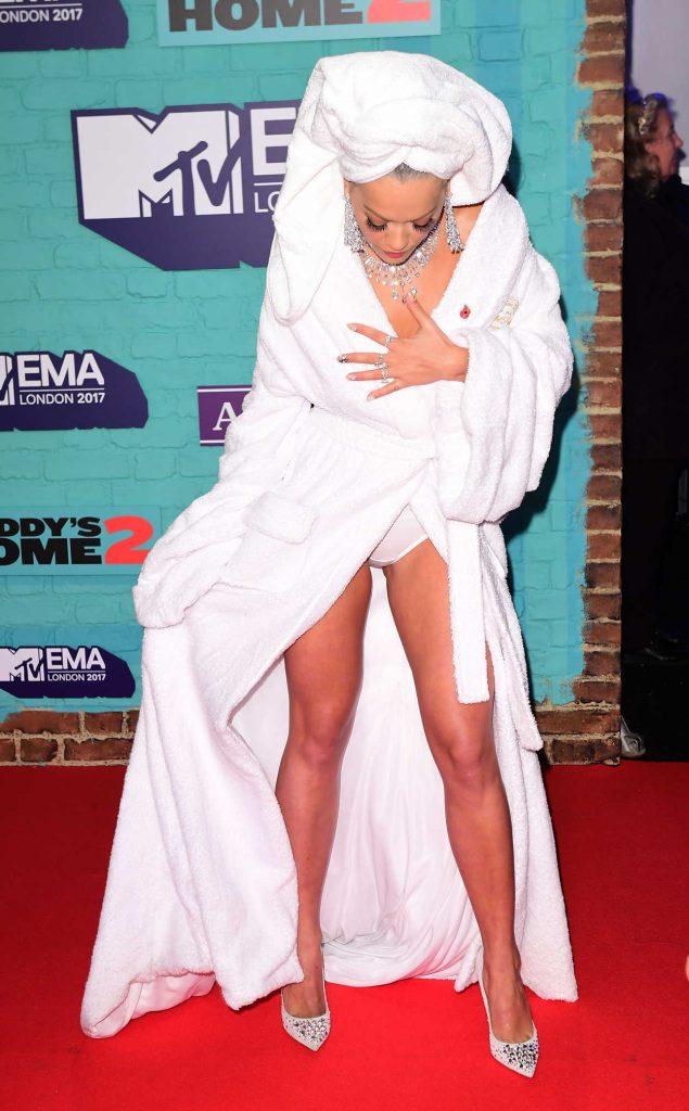 Rita Ora at the 24th MTV Europe Music Awards in London 11/12/2017-2