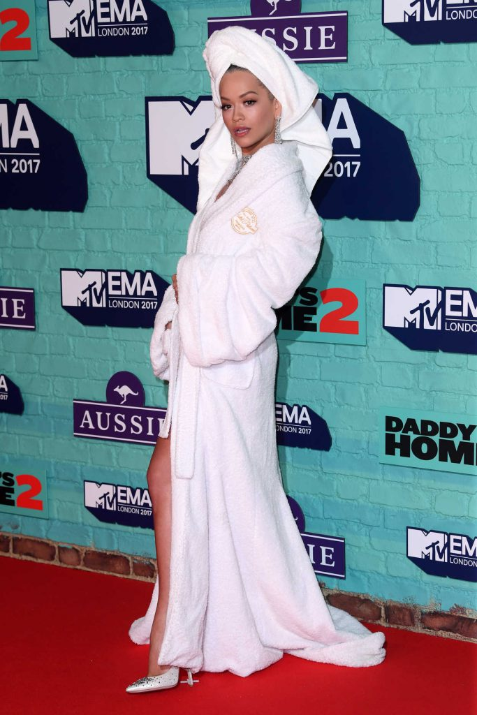 Rita Ora at the 24th MTV Europe Music Awards in London 11/12/2017-3