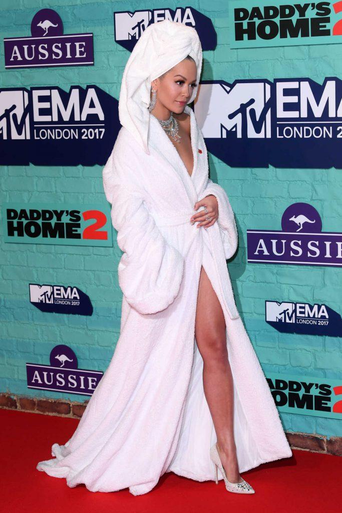 Rita Ora at the 24th MTV Europe Music Awards in London 11/12/2017-4
