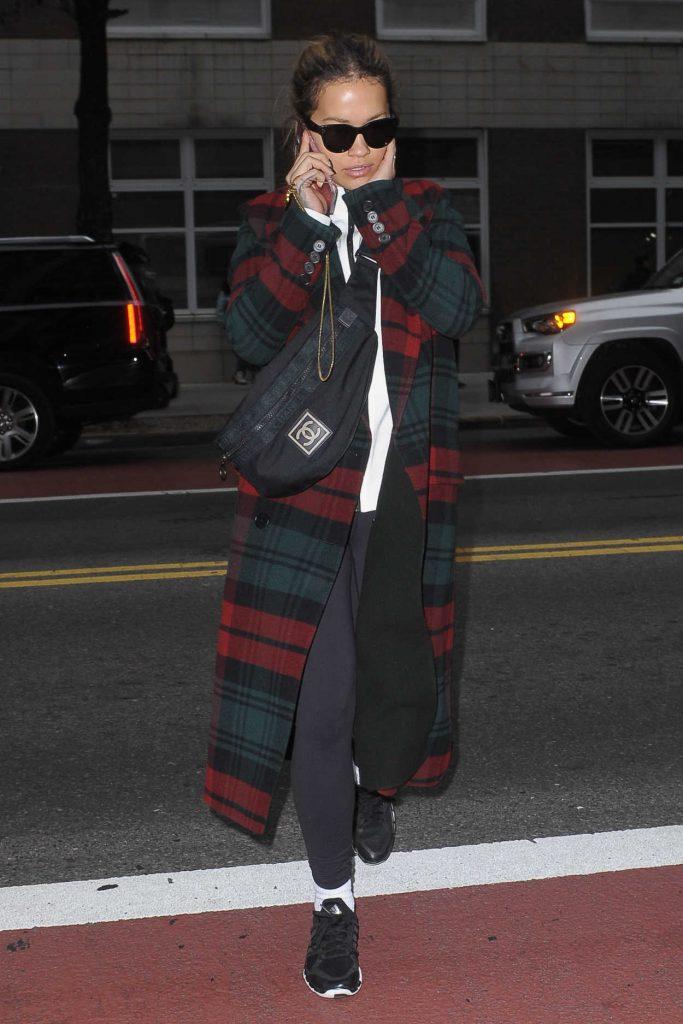Rita Ora Was Seen Out in Manhattan 11/01/2017-1