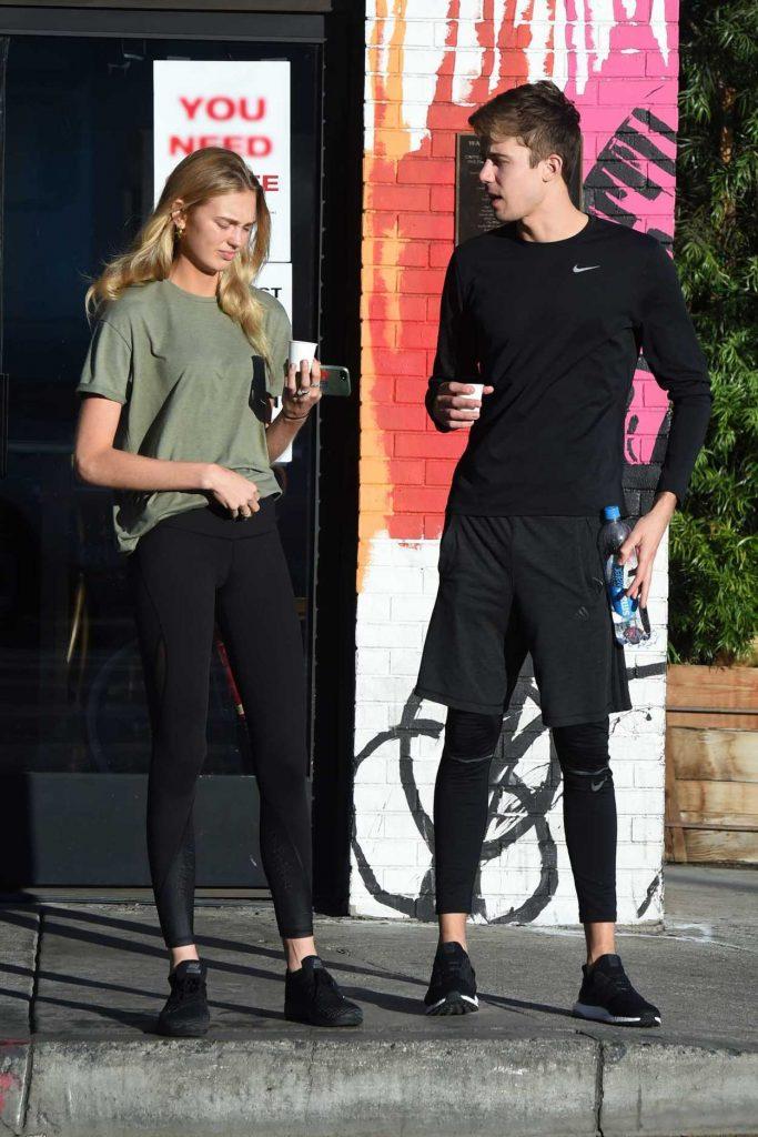 Romee Strijd Leaves Home With Her Boyfriend in LA 11/06/2017-2