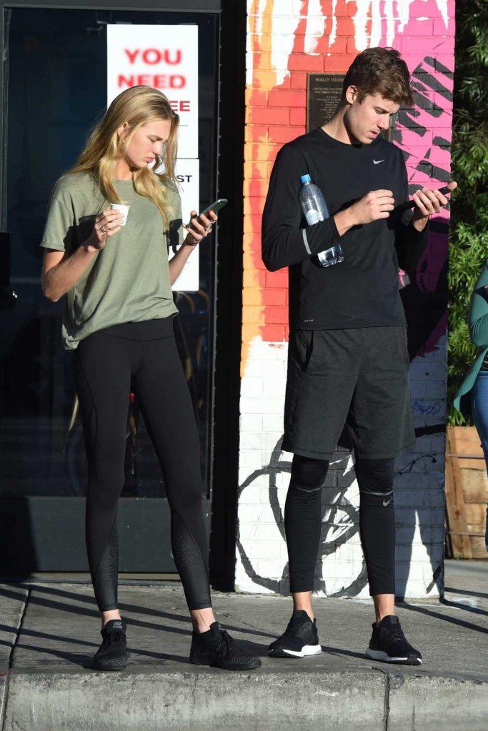 Romee Strijd Leaves Home With Her Boyfriend in LA 11/06/2017-3