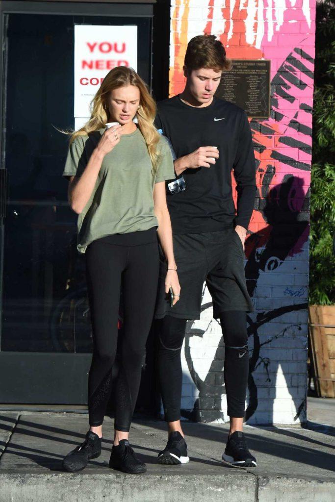 Romee Strijd Leaves Home With Her Boyfriend in LA 11/06/2017-5