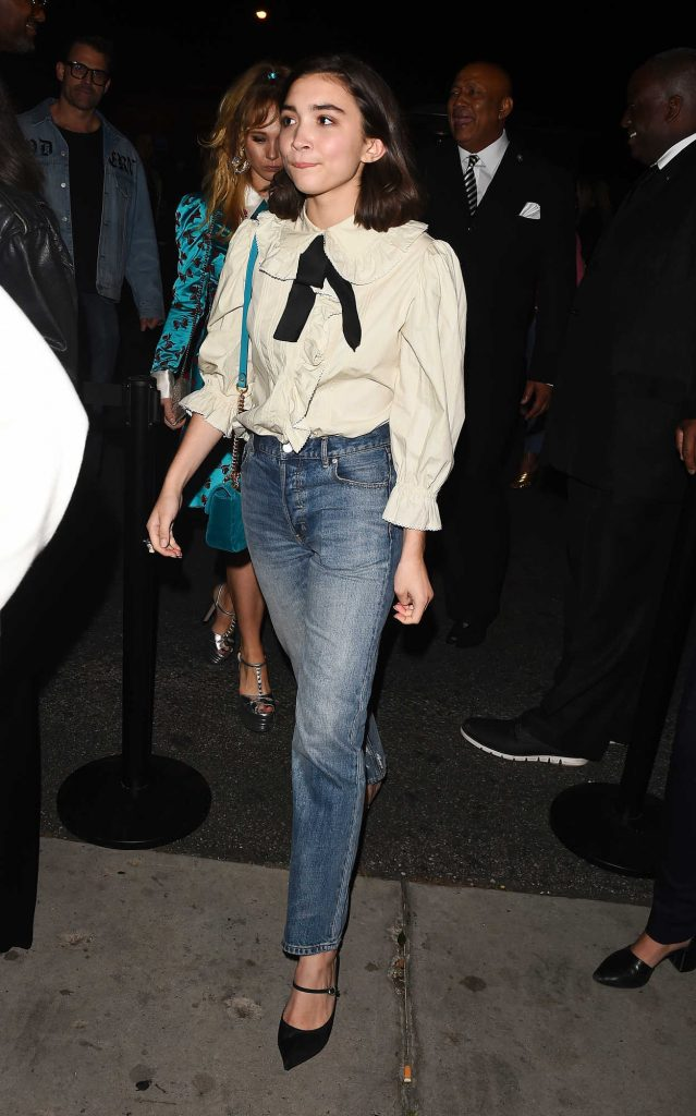 Rowan Blanchard Arrives at the Gucci Decor Launch in Los Angeles 11/09/2017-3