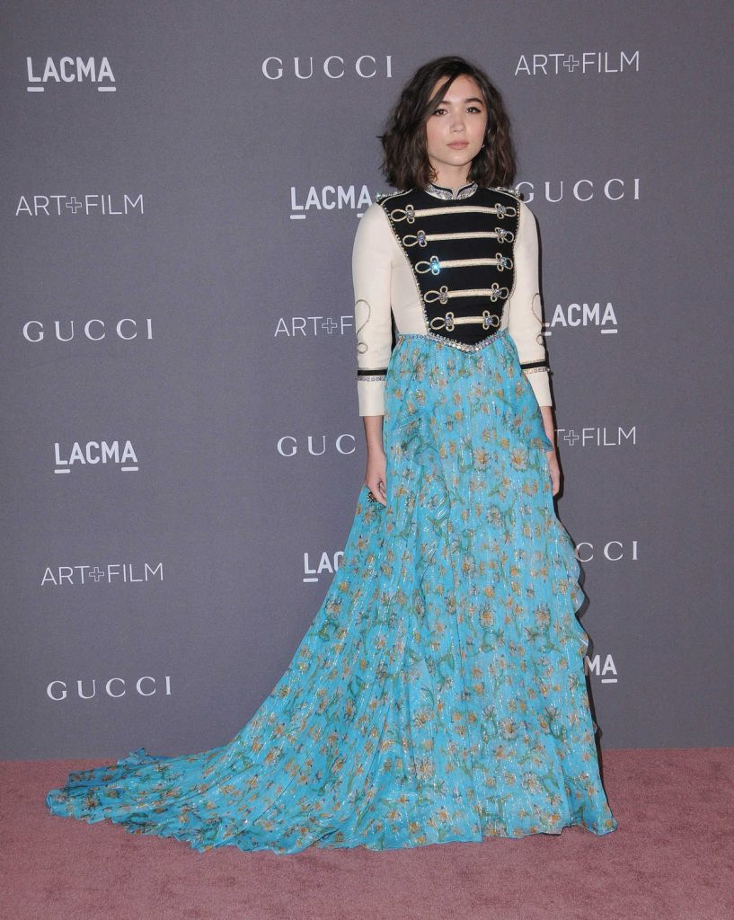 Rowan Blanchard at 2017 LACMA Art + Film Gala Honoring Mark Bradford and George Lucas in Los Angeles 11/04/2017-1