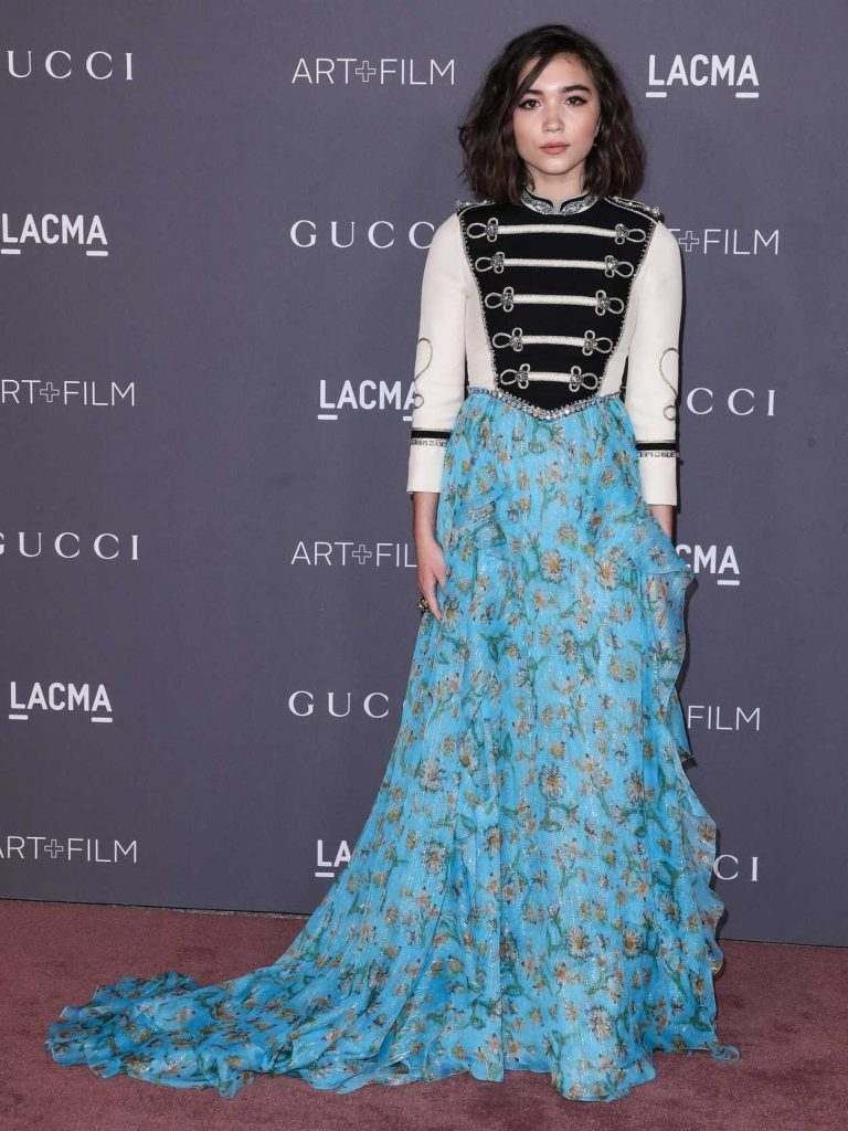 Rowan Blanchard at 2017 LACMA Art + Film Gala Honoring Mark Bradford and George Lucas in Los Angeles 11/04/2017-2