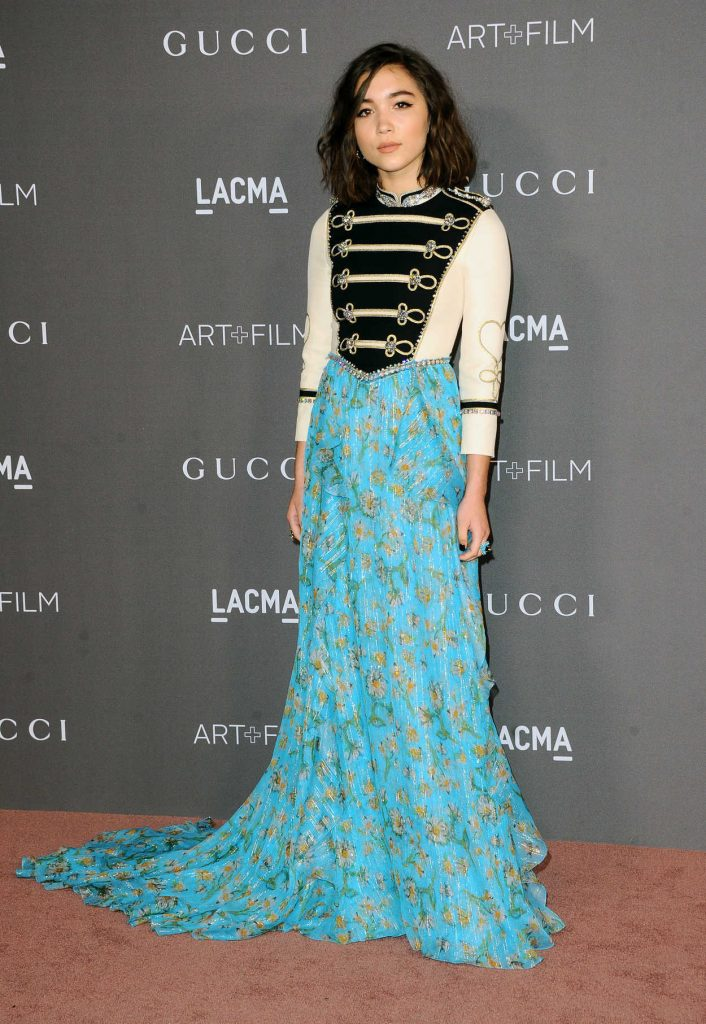 Rowan Blanchard at 2017 LACMA Art + Film Gala Honoring Mark Bradford and George Lucas in Los Angeles 11/04/2017-3