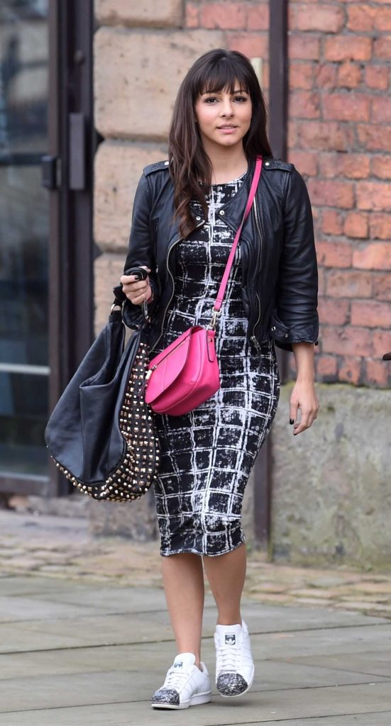 Roxanne Pallett Leaves Key 103 Radio Station in Manchester 11/11/2017-1