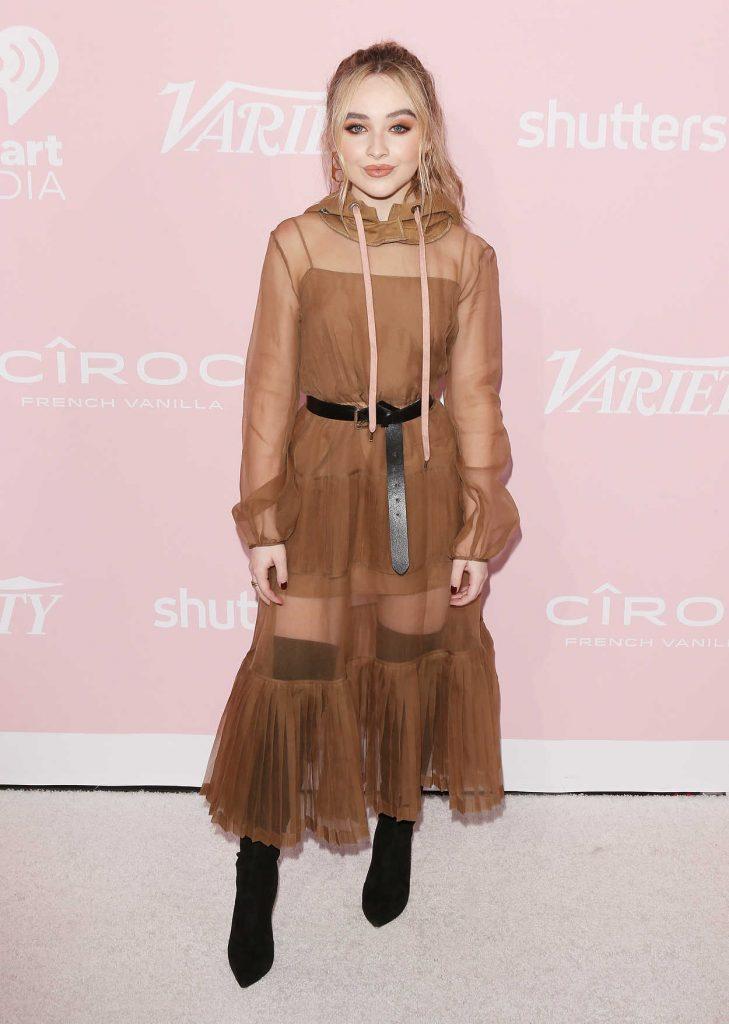 Sabrina Carpenter at the Variety Hitmakers Awards in LA 11/18/2017-1
