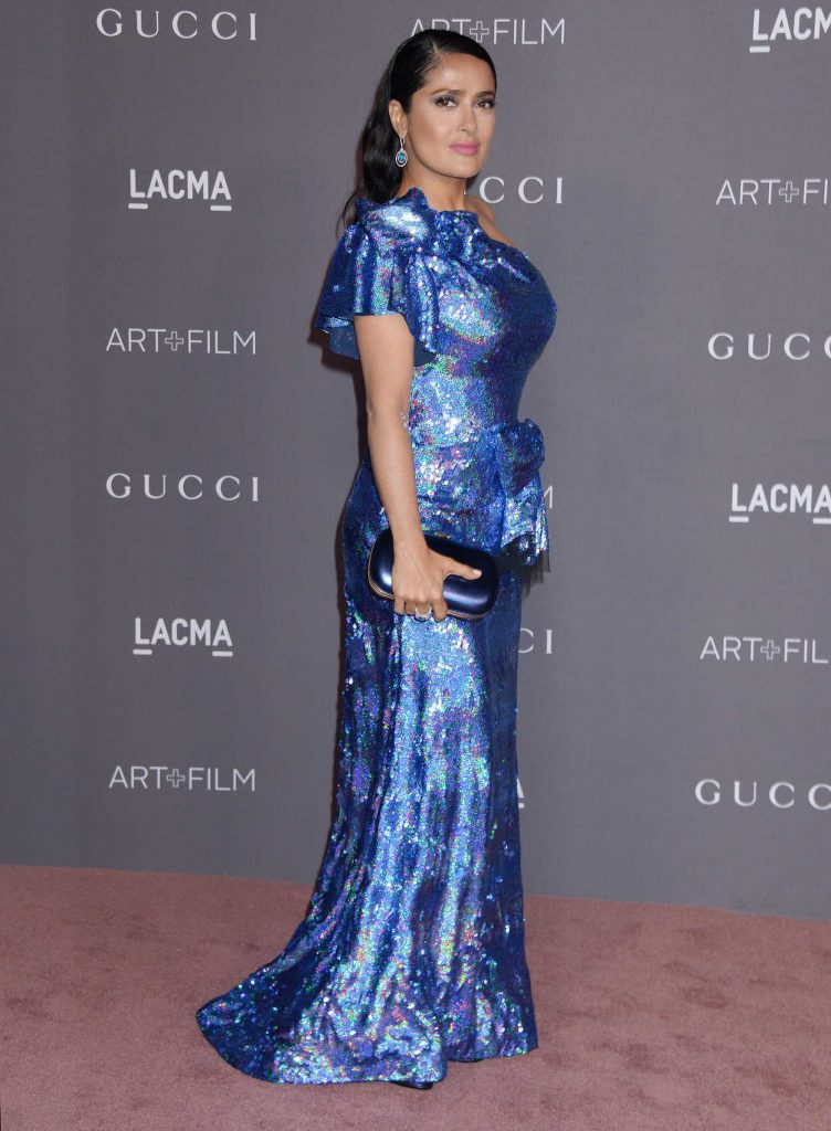 Salma Hayek at 2017 LACMA Art + Film Gala Honoring Mark Bradford and George Lucas in Los Angeles 11/04/2017-2