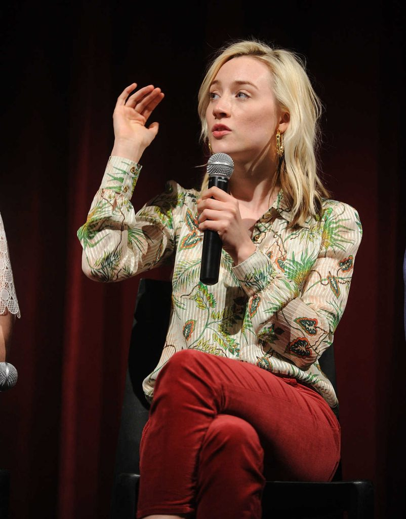 Saoirse Ronan at the Lady Bird Academy Screening in New York City 11/07/2017-5
