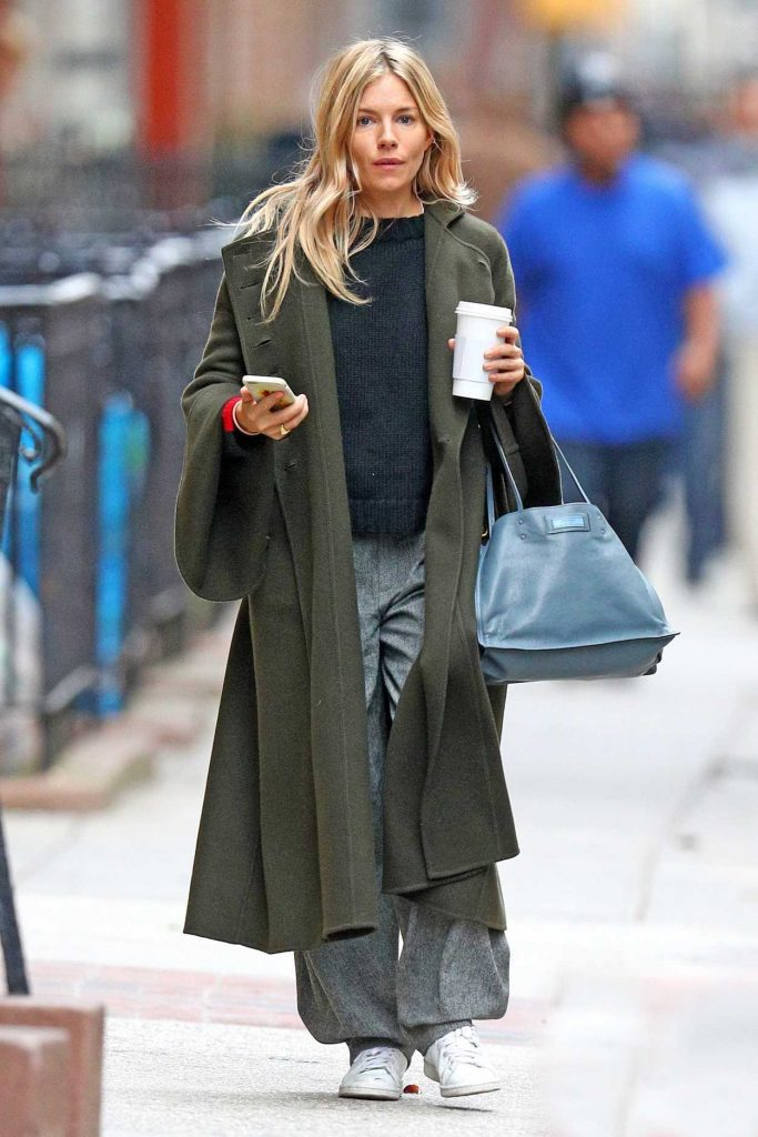 Sienna Miller Was Seen Out in New York 11/20/2017-1