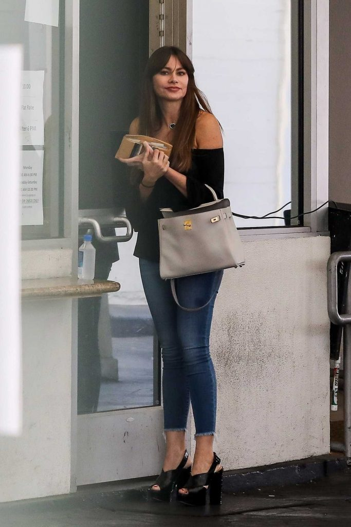 Sofia Vergara Was Seen Out in Beverly Hills 11/01/2017-1
