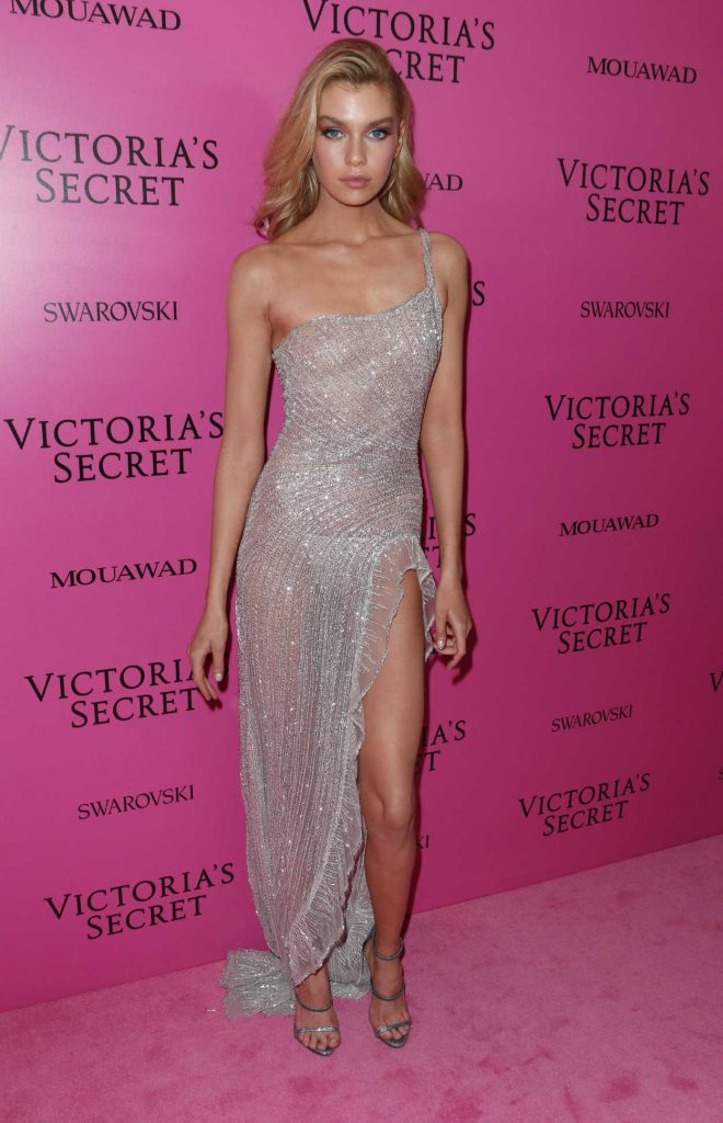 Stella Maxwell at 2017 Victoria's Secret Fashion Show After Party in Shanghai 11/20/2017-1