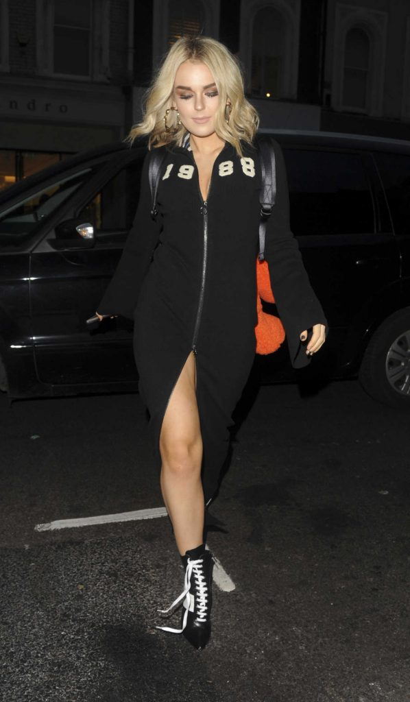 Tallia Storm Arrives at Nip and Fab Launch Party in London 11/14/2017-2