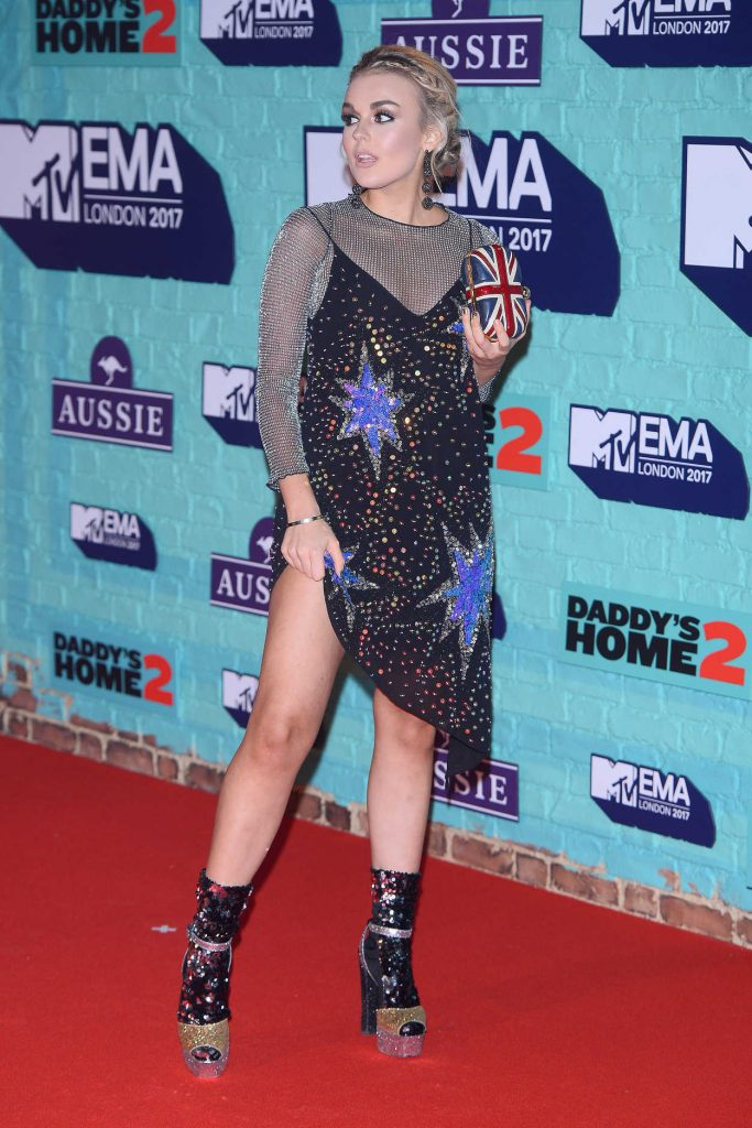 Tallia Storm at the 24th MTV Europe Music Awards in London 11/12/2017-4