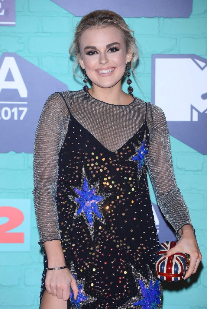 Tallia Storm at the 24th MTV Europe Music Awards in London 11/12/2017-5