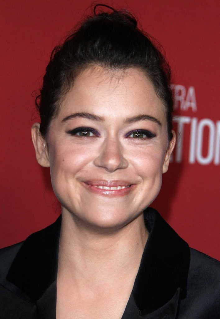 Tatiana Maslany at SAG-AFTRA Foundation's Patron of the Artists Awards in Beverly Hills 11/09/2017-5