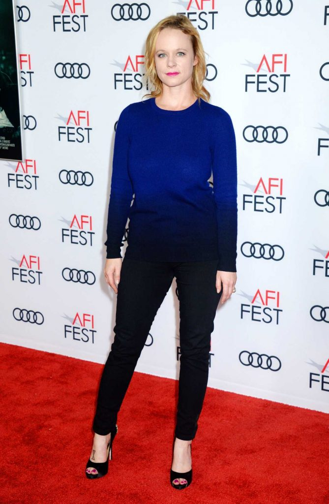 Thora Birch at The Disaster Artist Screening During AFI Festival in Los Angeles 11/12/2017-1