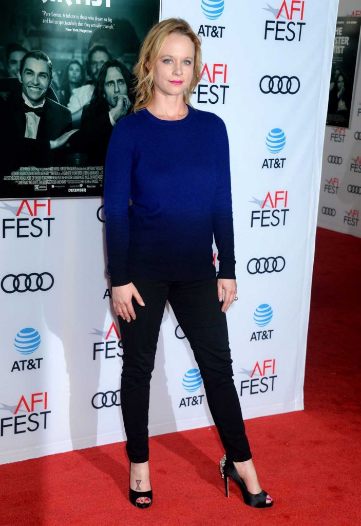 Thora Birch at The Disaster Artist Screening During AFI Festival in Los Angeles 11/12/2017-2