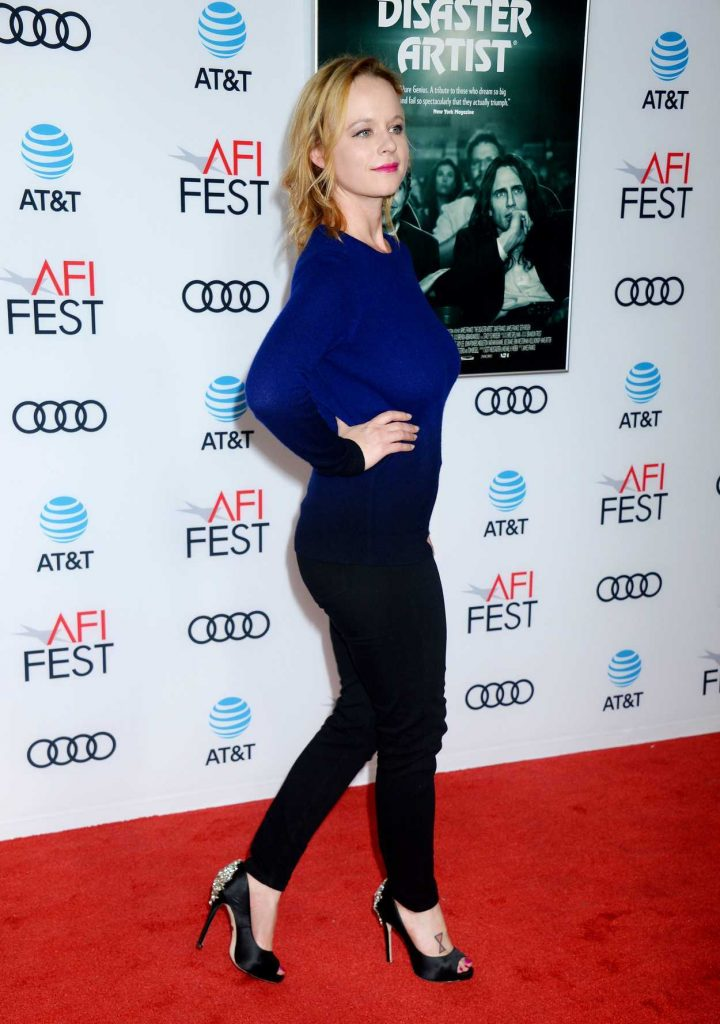 Thora Birch at The Disaster Artist Screening During AFI Festival in Los Angeles 11/12/2017-4