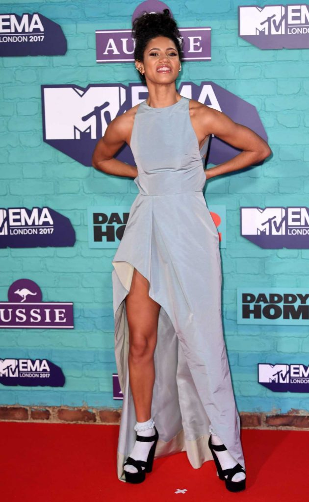 Vick Hope at the 24th MTV Europe Music Awards in London 11/12/2017-2