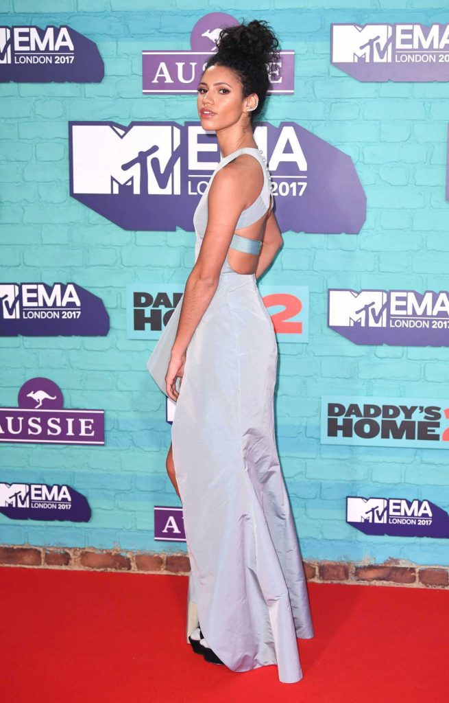 Vick Hope at the 24th MTV Europe Music Awards in London 11/12/2017-4