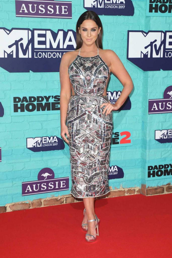 Vicky Pattison at the 24th MTV Europe Music Awards in London 11/12/2017-2