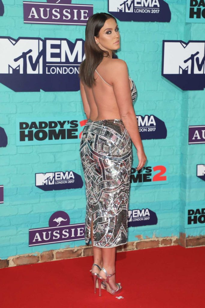 Vicky Pattison at the 24th MTV Europe Music Awards in London 11/12/2017-3