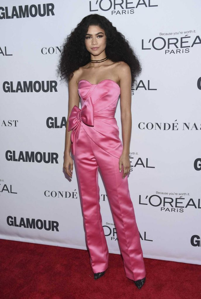 Zendaya at 2017 Glamour Women of the Year Awards in NYC 11/13/2017-1