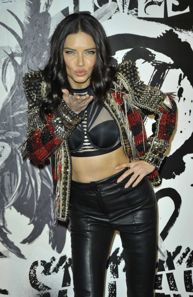 Adriana Lima at 2017 Victoria's Secret Fashion Show in New York 11/28/2017-1