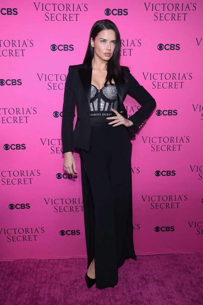 Adriana Lima at 2017 Victoria's Secret Fashion Show Viewing Party in New York City 11/28/2017-1