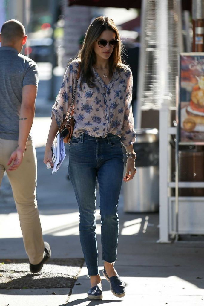 Alessandra Ambrosio Was Seen Out in Beverly Hills 12/12/2017-3