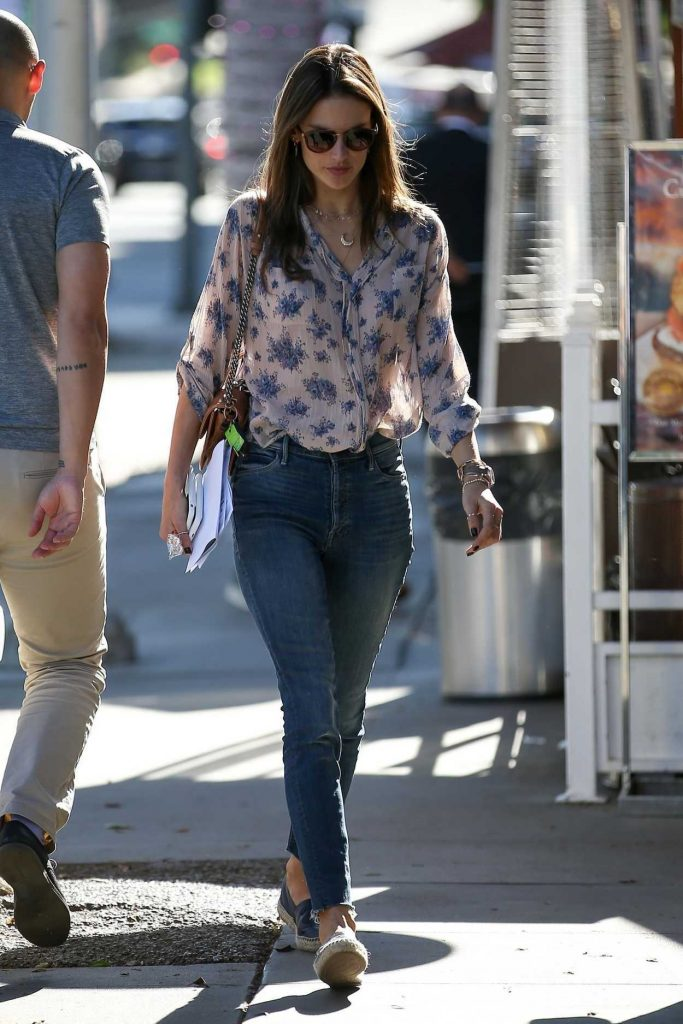 Alessandra Ambrosio Was Seen Out in Beverly Hills 12/12/2017-4