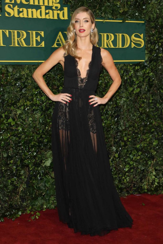 Annabelle Wallis at the London Evening Standard Theatre Awards at Theatre Royal in London 12/03/2017-1