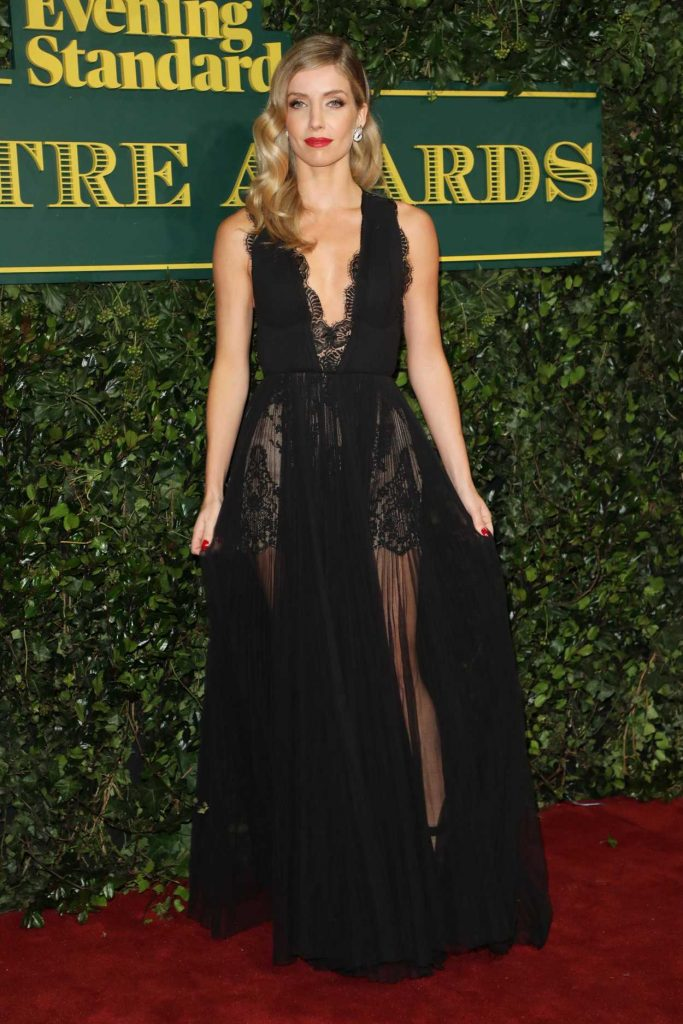Annabelle Wallis at the London Evening Standard Theatre Awards at Theatre Royal in London 12/03/2017-2