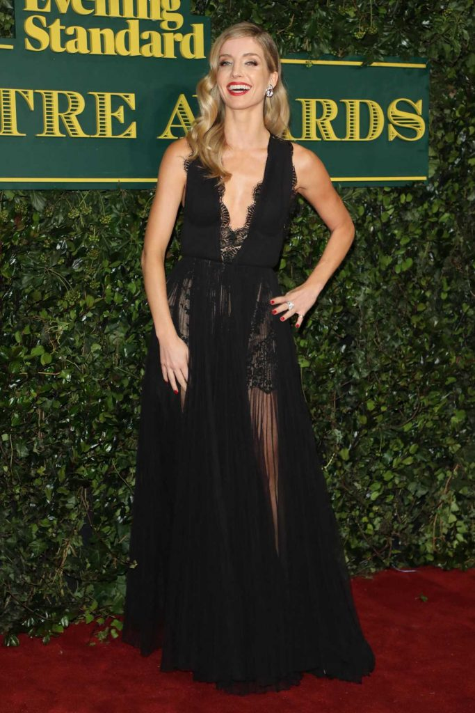 Annabelle Wallis at the London Evening Standard Theatre Awards at Theatre Royal in London 12/03/2017-3
