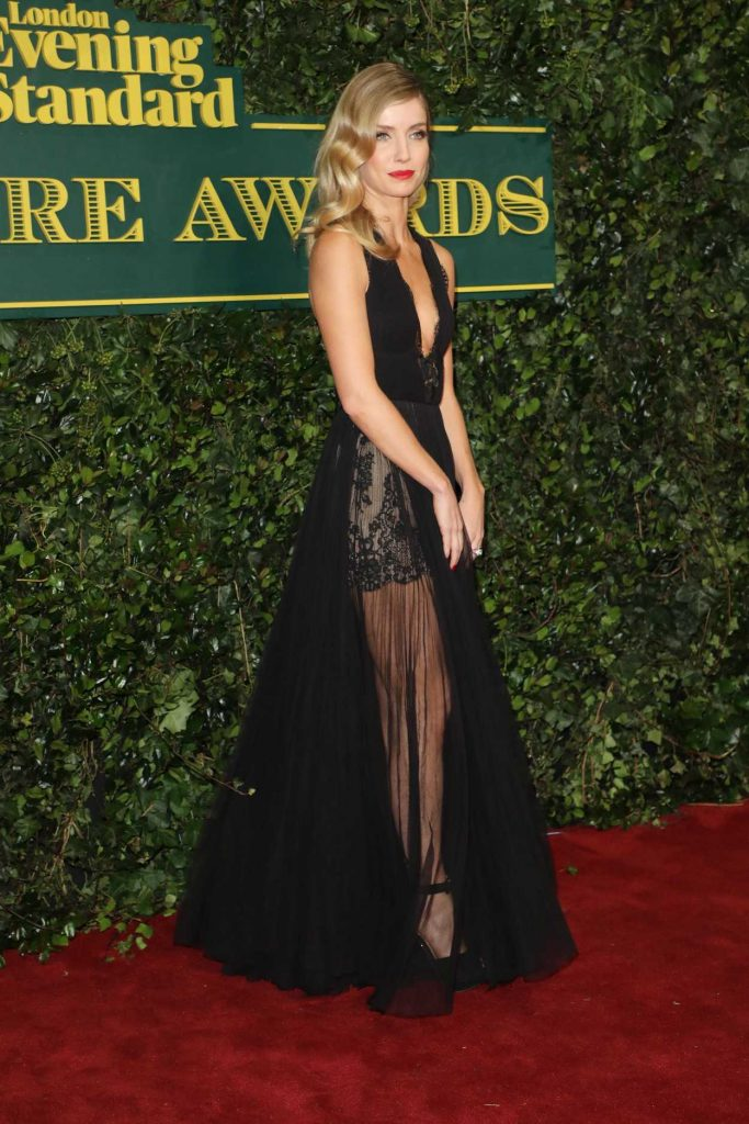 Annabelle Wallis at the London Evening Standard Theatre Awards at Theatre Royal in London 12/03/2017-5
