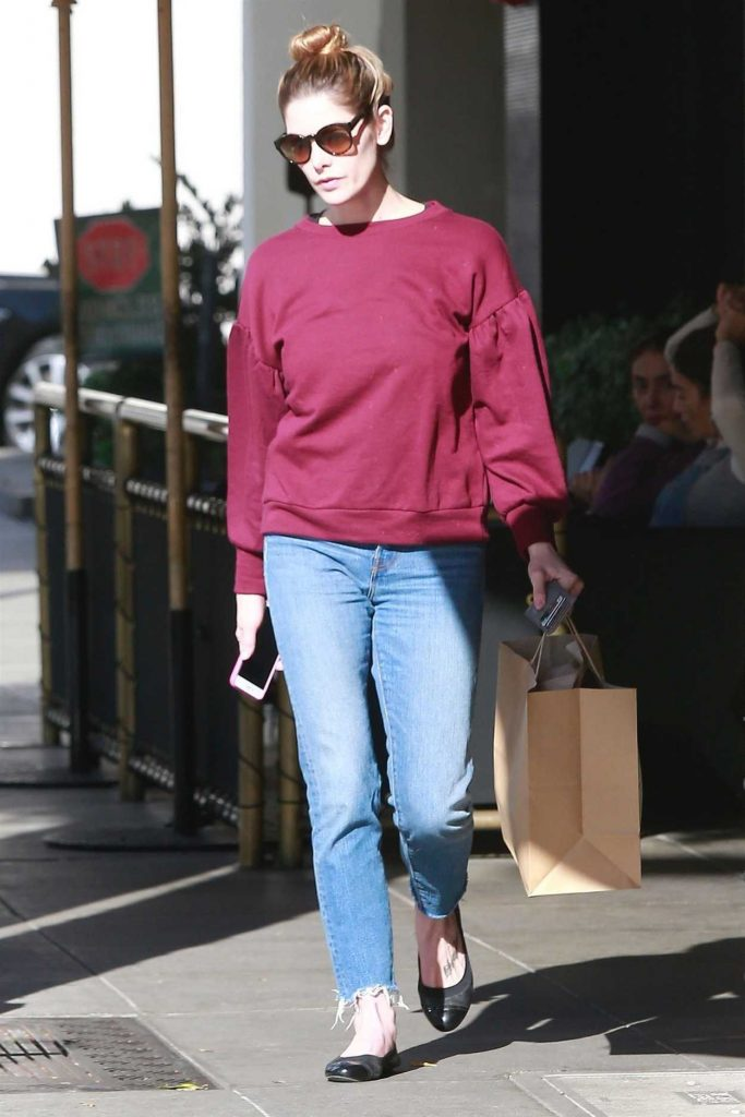 Ashley Greene Was Seen Out in Beverly Hills 12/28/2017-3